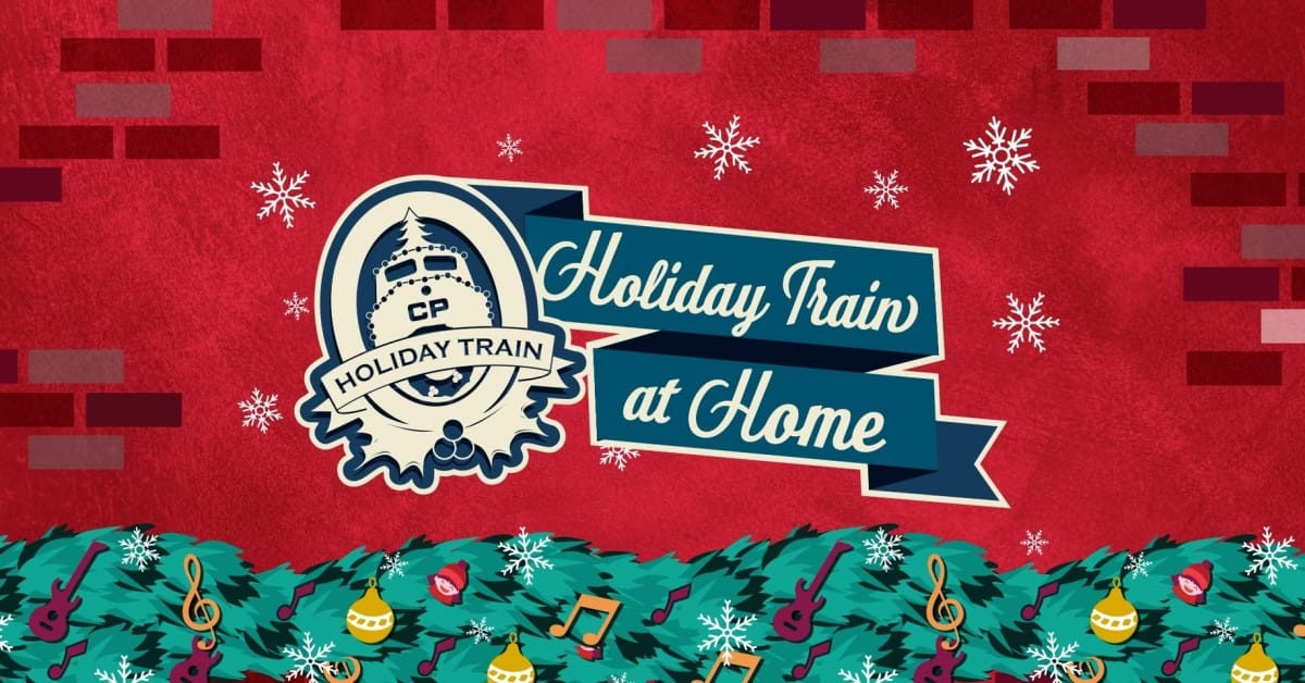 CP Holiday Train at Home poster